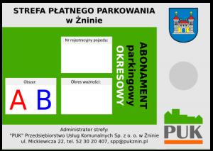Abonament parkingowy okresowy