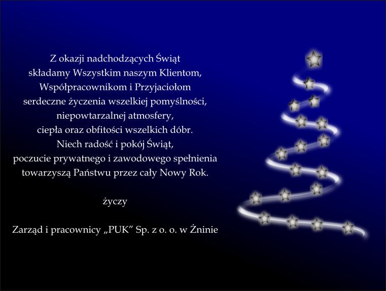 Życzenia Świąteczne 2017 r.